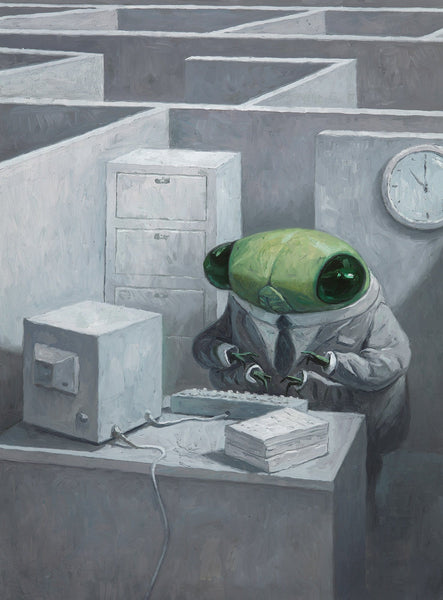 Shaun Tan print - The Cicada