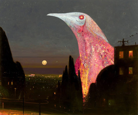 "Shaun Tan - ""Empire"" (2015) - oil on canvas - 180 x 150cm (70.8""x59"")"