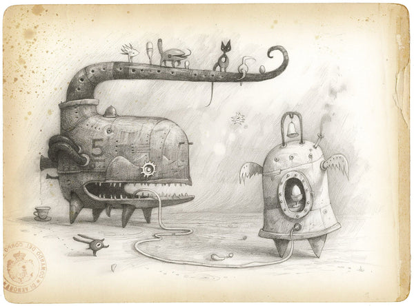 Shaun Tan print - Proud Parents