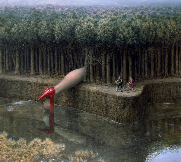 "Mike Worrall - ""The Carnivorouse Forest"" - limited edition print"