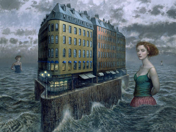 "Mike Worrall - ""The Lost Narrative"" - limited edition print"