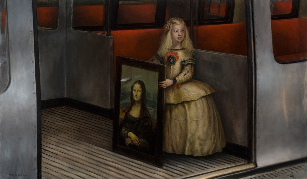 "Mike Worrall - ""The Sweet Assassin"" - limited edition print"