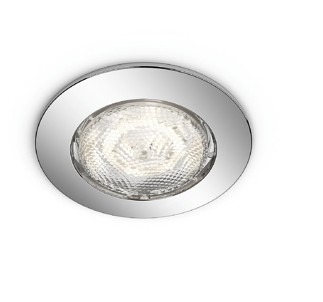 Philips 5900511p0 dreaminess chrome led bathroom round philips 5900511p0 dreaminess chrome led bathroom round recessed spot light 5900511p0 birco philips aloadofball Gallery