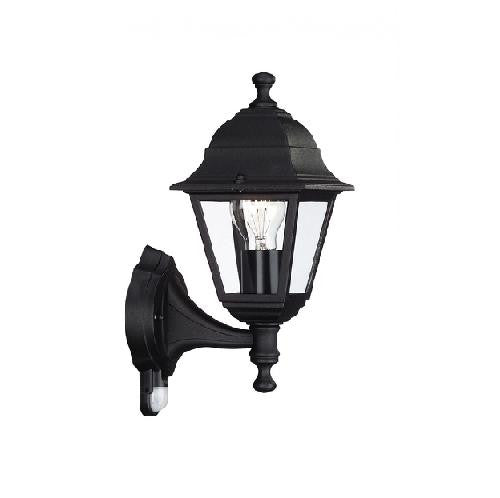 Massive 714220130 lima black outdoor up lantern wall light with massive 714220130 714220130 birco lighting aloadofball Image collections