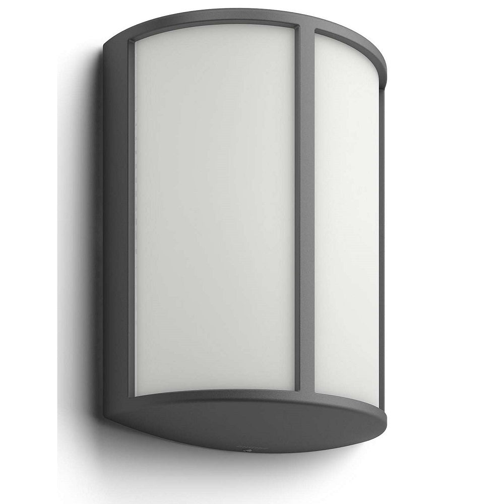 Philips 16464 93 16 Stock Anthracite Led Outdoor Modern