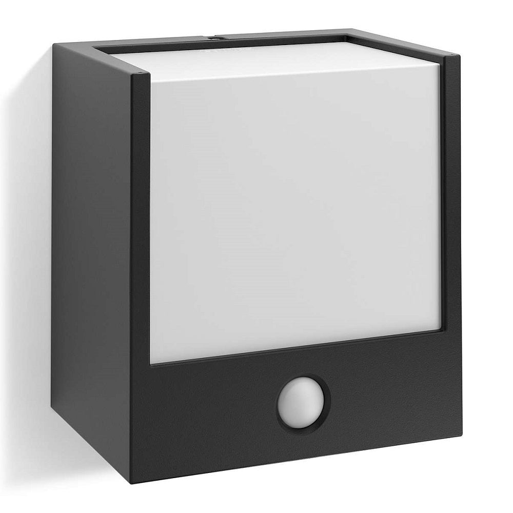 Philips 173173016 macaw black led outdoor modern square wall philips 173173016 birco lighting aloadofball Image collections