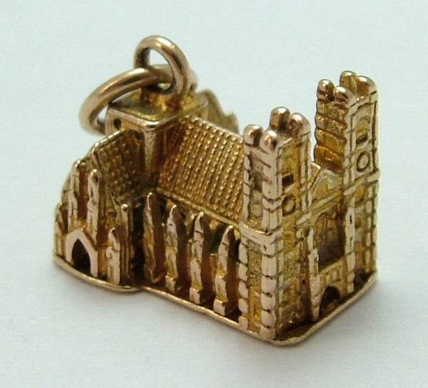 Vintage 1950's Solid 9ct Gold Westminster Abbey Charm Gold Charm - Sandy's Vintage Charms