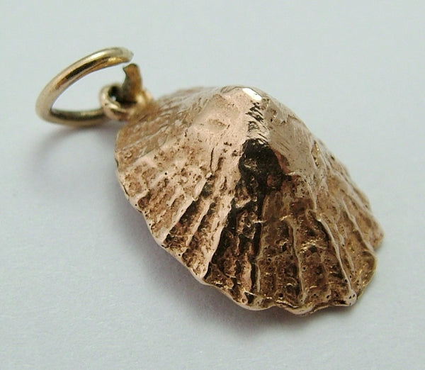Vintage 1950's 9ct Rose Gold Limpet Sea Shell Charm Rose Gold Charm - Sandy's Vintage Charms
