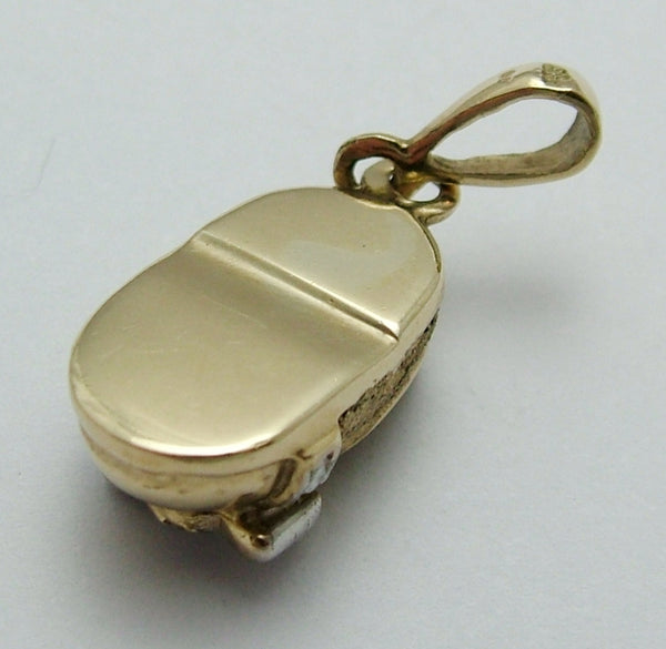 Modern Secondhand 1990's 9ct Gold Baby Bootie Charm Gold Charm - Sandy's Vintage Charms