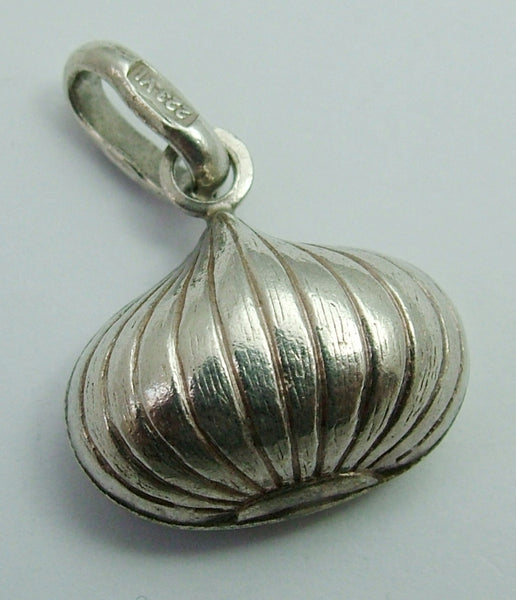 Vintage 1970's Silver Hollow Onion Charm Silver Charm - Sandy's Vintage Charms