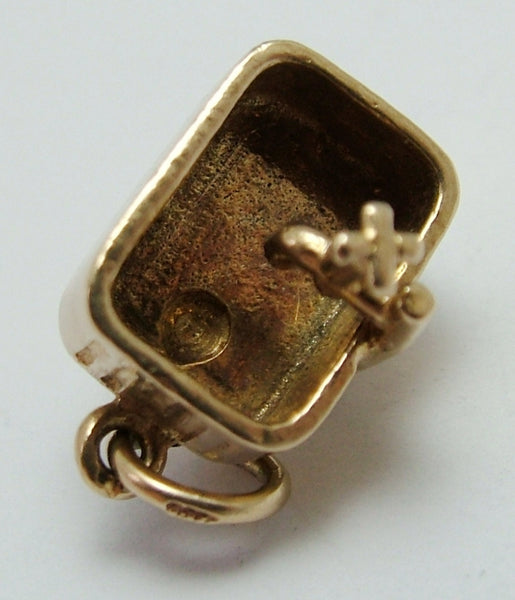 Vintage 1960's 9ct Gold Kitchen Sink Charm Gold Charm - Sandy's Vintage Charms