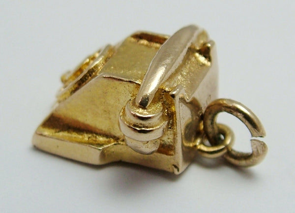 Vintage 1960's 9ct Gold Telephone Charm Gold Charm - Sandy's Vintage Charms