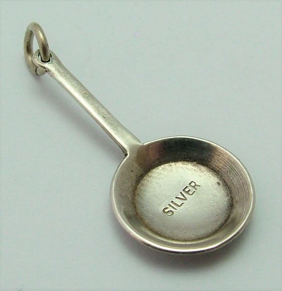Vintage 1950's Silver Miniature Frying Pan Charm