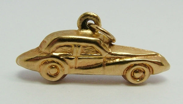 1950's 9ct Gold Puffed Car Charm Gold Charm - Sandy's Vintage Charms