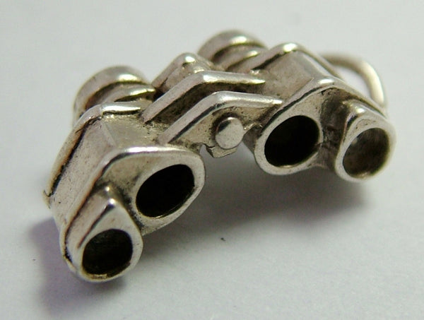 1970's Silver Charm of a Pair of Binoculars Silver Charm - Sandy's Vintage Charms