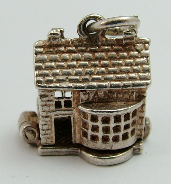 Vintage 1960's Silver Opening Nuvo Sweet Shop Charm Child Buying Sweets Inside Nuvo Charm - Sandy's Vintage Charms
