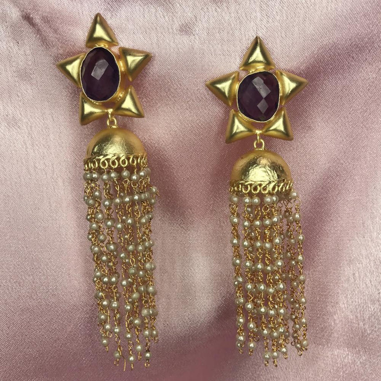 Symphony Amethyst earrings