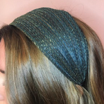 Metallic turban headband WAS £16