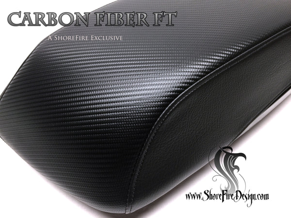 Carbon Fiber FT - HD Saddlebag Lid Covers