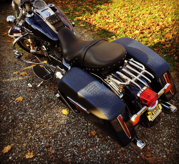 GatorBack- HD Saddlebag Lid Covers