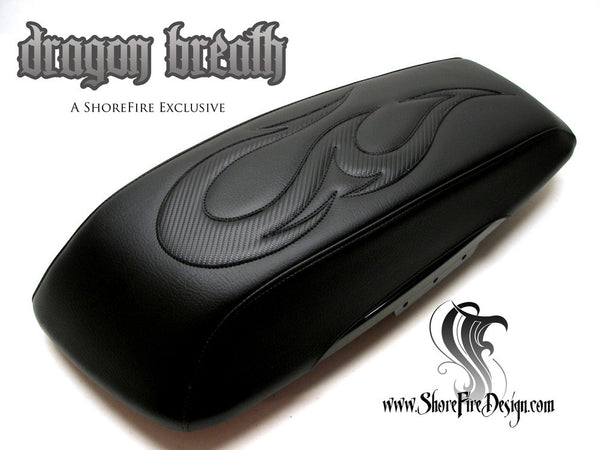 Dragon Breath - HD Saddlebag Lid Covers