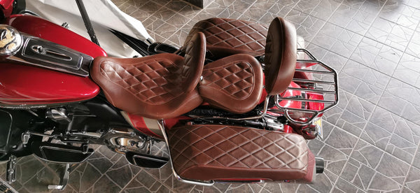 Diamondback - HD Saddlebag Lid Covers