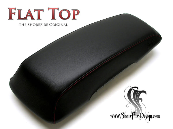 Flat Top - HD Saddlebag Lid Covers