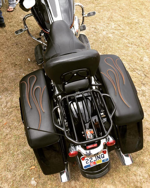 Trident - HD Saddlebag Lid Covers