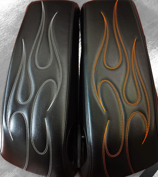 El Diablo - HD Saddlebag Lid Covers