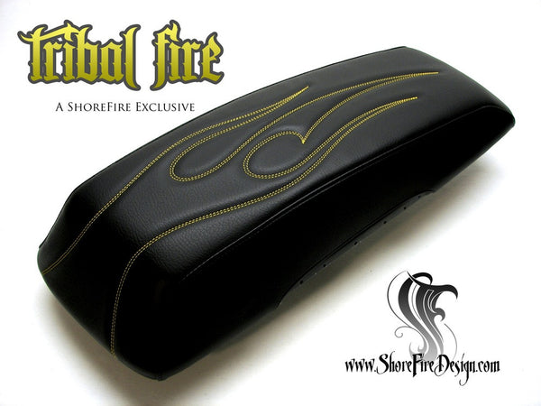 TribalFire - HD Saddlebag Lid Covers