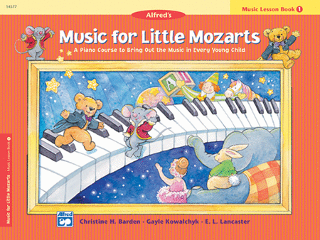 Alfred's Music for Little Mozarts Lesson Book