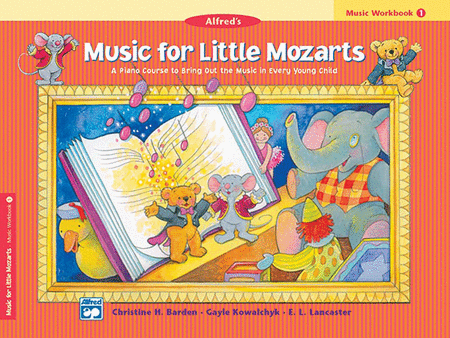 Alfred's Music for Little Mozarts Workbook