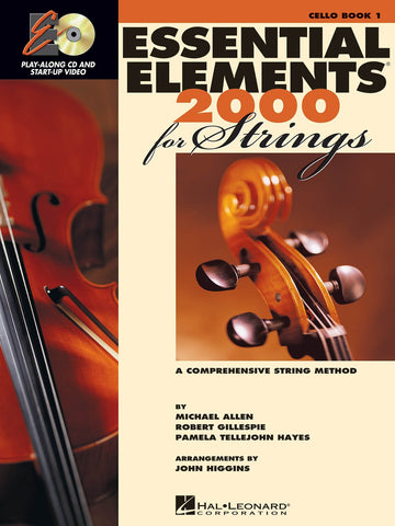 Essential Elements for Strings Cello Book