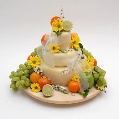 "Cheese Wedding Cake ""Cream of the Dales"""