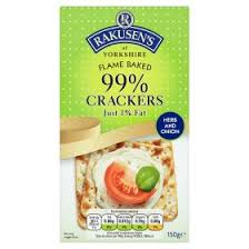 99% Crackers with Onion & Herbs