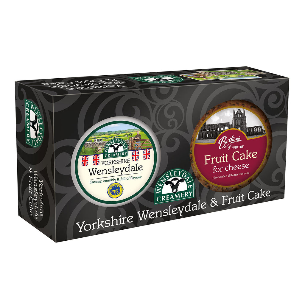 Yorkshire Wensleydale & Fruit Cake Gift Box