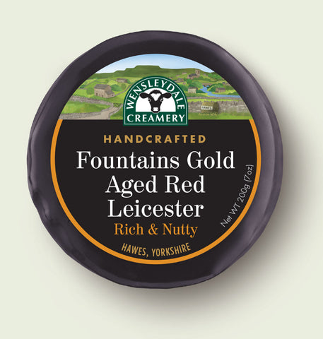 Fountains Gold Aged Red Leicester 200g