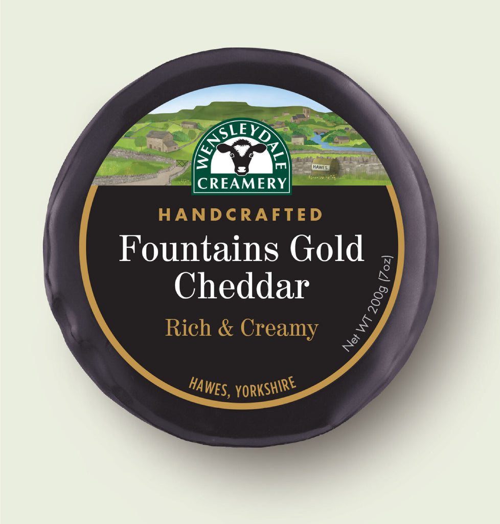 Fountains Gold Cheddar 200g