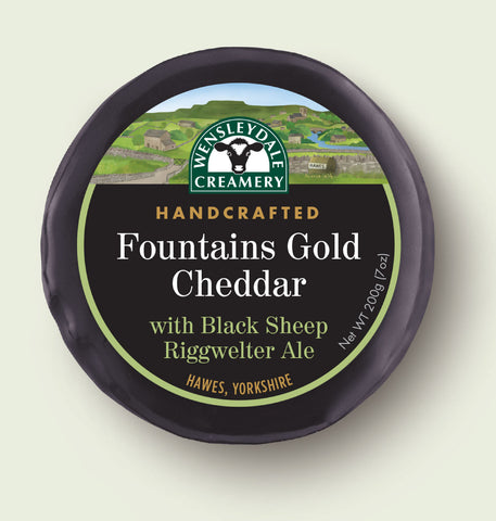Fountains Cheddar with Black Sheep Riggwelter Ale