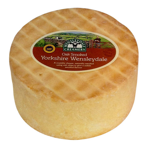 Naturally Oak Smoked Yorkshire Wensleydale (2kg)
