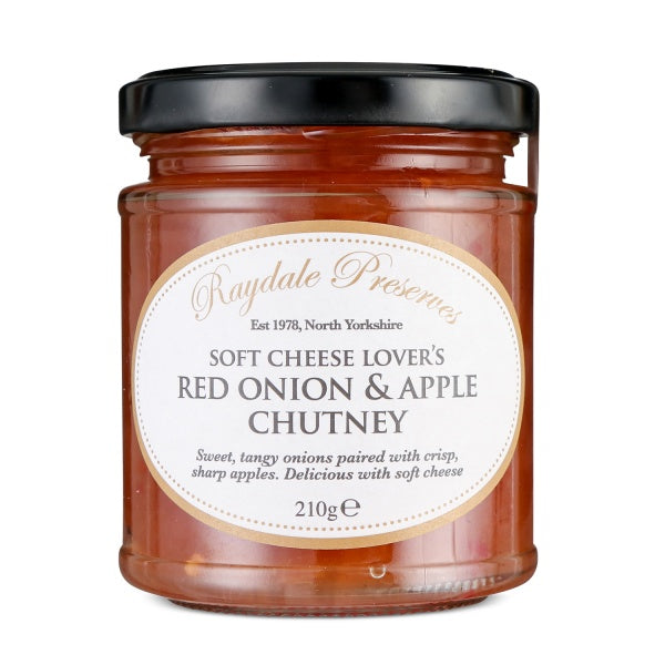 Soft Cheese Lovers Red Onion & Apple Chutney