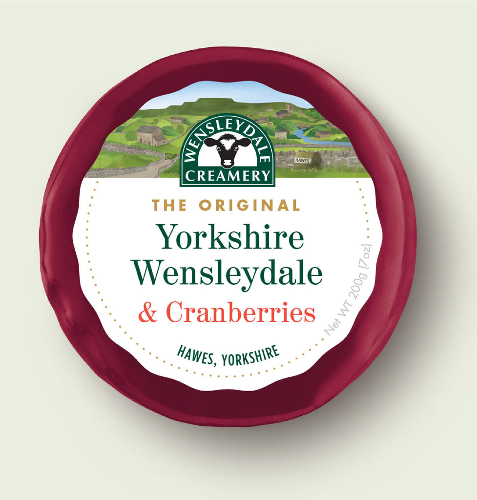 Wensleydale & Cranberries Truckle 200g