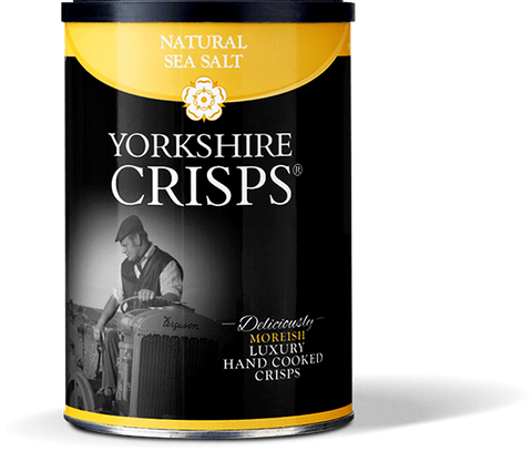 Yorkshire Crisps - Sea Salt Flavour