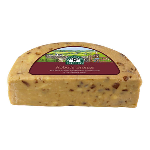 Abbot's Bronze - Cheddar with Balsamic Onions