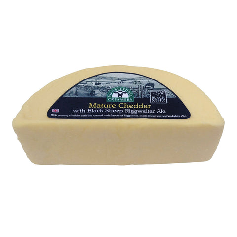 Mature Cheddar with Black Sheep Riggwelter Ale (1.25kg)