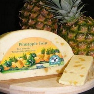 Wensleydale Pineapple Twist 200g