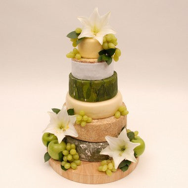 "Cheese Wedding Cake ""The Green Cake"""