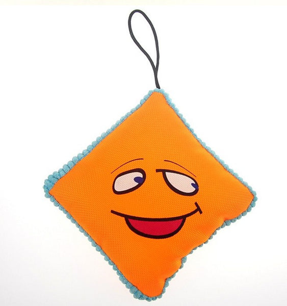Embroidery Smiley Stuffer Play Toy