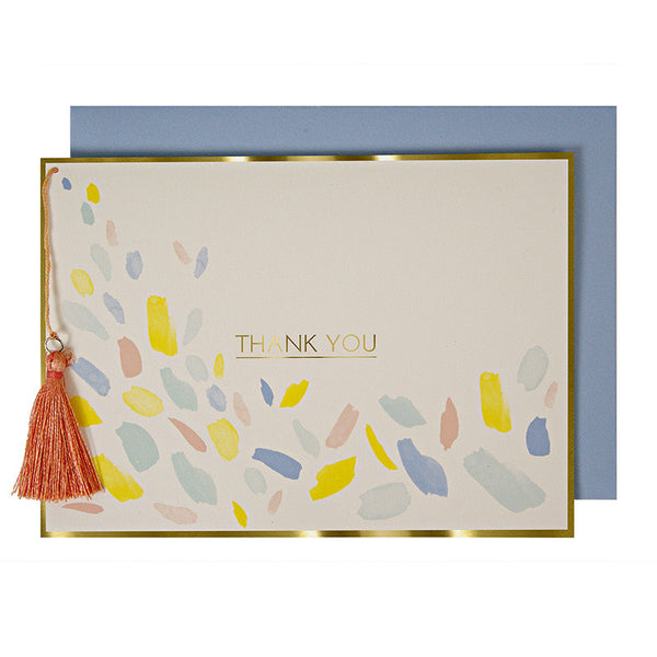 Thank You with Tassel Card