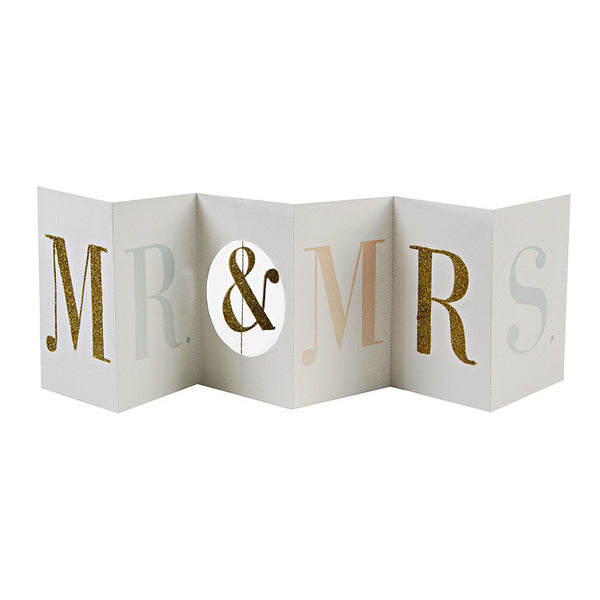 Mr & Mrs Banner Card